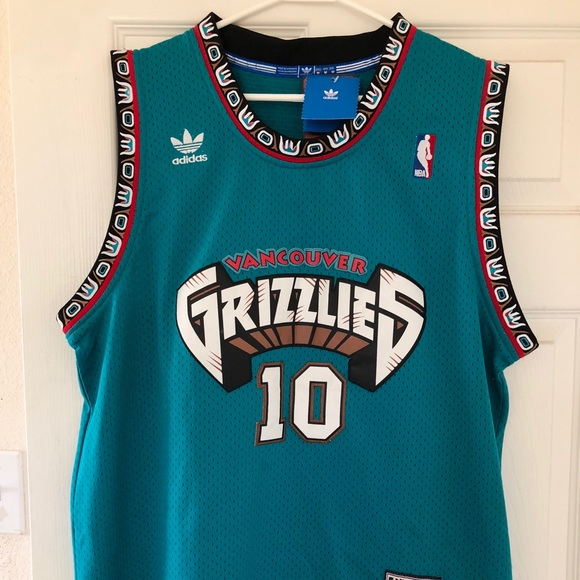 eae4b87bf 1998-1999 Vancouver Grizzlies jersey